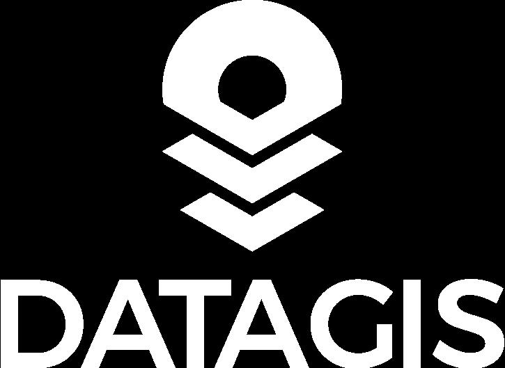 Logo Datagis Blanco